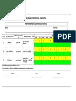 Programa Auditorias Efectivas 2018