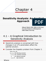 Chapter 04 Sensitivity Analysis- An Applied Approach