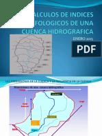 Geomorfologia Indices Morfologicos Calculos..