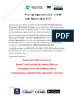 Thevenin Norton Equivalencies GATE Study Material in PDF 1