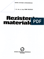 Deutsch - Rezistenta Materialelor