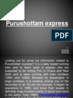 Purushottam Express