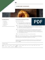 Yorkshire Puddings | Bread Street Kitchen | Gordon Ramsay Recipes
