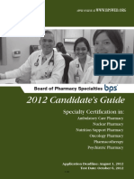 BPS Candidates Guide