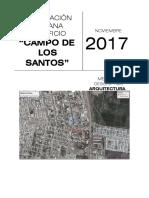 Microsoft Word - Memoria Descriptiva Campo de Los Santos