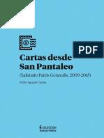 AGUADO, Pedro - Cartas Desde San Pantaleo
