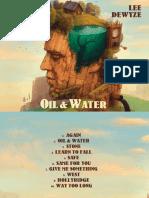 Digital Booklet - Oil & Water