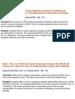 Acid-Base Assessment of Compensation