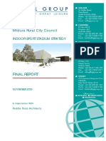 Indoor Sport Stadium Strategy Final Report November 2009