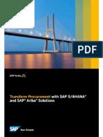 4HANA and SAP Ariba Solutions