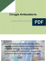 Cirugía Ambulatoria