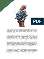 2018 Patek Philippe Calatrava Piloto Tiempo de Viaje Ref. 5524 Relojes