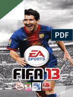 Fifa-13-Bedienungsanleitung Microsoft XBOX360 De