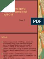 WISC-III_Curs 5