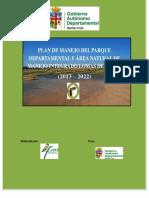 Plan de Manejo Del Parque