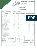 Exemple de Bulletin de Salaire Btp