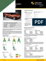 ANCAP 2017 Land Rover Discovery Datasheet