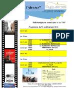 Cinema semaine 03