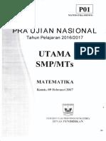 Pra Un Mat Smp 2017 p1