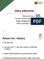 Pituitary Adenoma Case