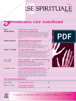 21 - Predicarea Care Transform A