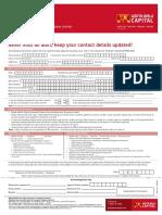 BSL Profile Updation Form
