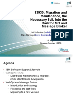 13930- Migration and Maintenance, The Necessary Evil