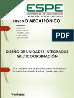 Diseño de Unidades Integradas Multicoordinación