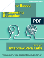 Interview/Viva Lab for Engineering Knowledge Acquisition & Employability