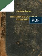 Historia de las Ideas Filosoficas - Gstavo Bueno