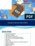 Goods and Services Tax(GST)