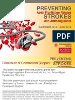 Preventing AFib Related Strokes Slide