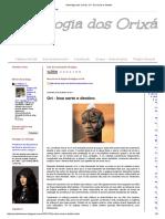Astrologia Dos Orixás_ Ori - Boa Sorte e Destino