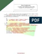 A.4.1 - Ficha de Trabalho - Os Continentes e Oceanos (1) - Soluções