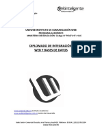 Diplomado Integracion Web