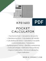 Manual KF01603