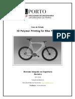 3 d Polymer Printing Bike Frame