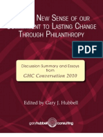 GHC Conv 2010 - Making New Sense...