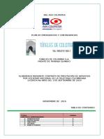 PLAN DE EMERGENCIAS TUNELES DE COLOMBIA FRENTE DE TRABAJO QUINDIO. (1) (1).doc