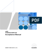 Bolivia Project Acceptance Manual - EAPP610 V1.0---Es