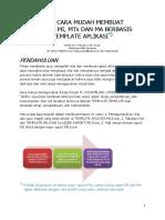 Buku Manual Aplikasi Raport