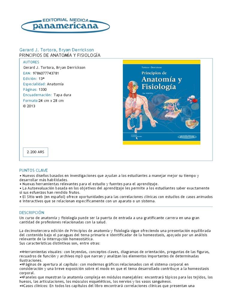 Excepcional Descripción Del Curso De Anatomía Y Fisiología Colección ...