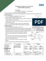 IHI ☆Calibration Procedure on ML-D5, D6