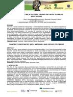 t066 Concretos Reforçados Com Fibras Naturais e Fibras Recicladas