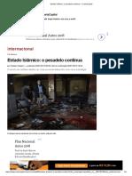 Estado Islâmico - o Pesadelo Continua