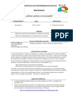 Actividades Diagnóstico Movilidad Primaria