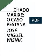 Wisnik Machado Maxixe o Caso Pestana
