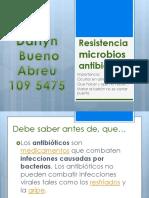 Resistencia Microbios antibioticos
