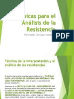 Técnicas para el Análisis de la Resistencia (1)