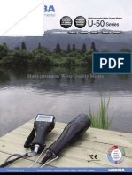 U-50 Multiparameter Water Quality Checker
